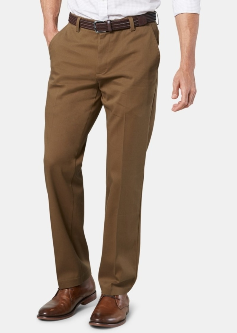 Dockers Men's Easy Straight Fit Khaki Stretch Pants