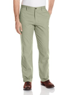 Dockers Men's Field Khaki Straight-Fit Flat-Front Pant Vetiver - discontinued