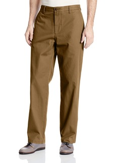 Dockers Men's Field Khaki Washed D3 Classic-Fit Flat-Front Pant Sepia - discontinued