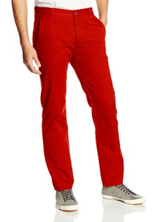 Dockers Men's Game Day Alpha Khaki Slim Tapered Flat Front Pant University Of Louisville Red - discontinued