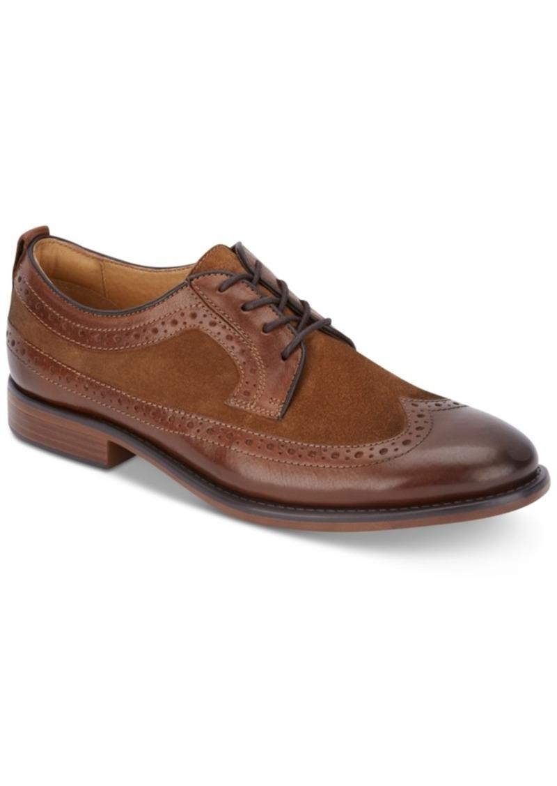 Dockers Men's Hausman Dress Wingtip Leather Oxfords Men's Shoes