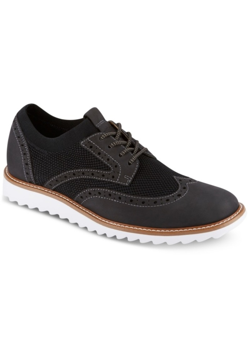 Dockers Men's Hawking Knit Smart Series Wingtip Oxfords Men's Shoes