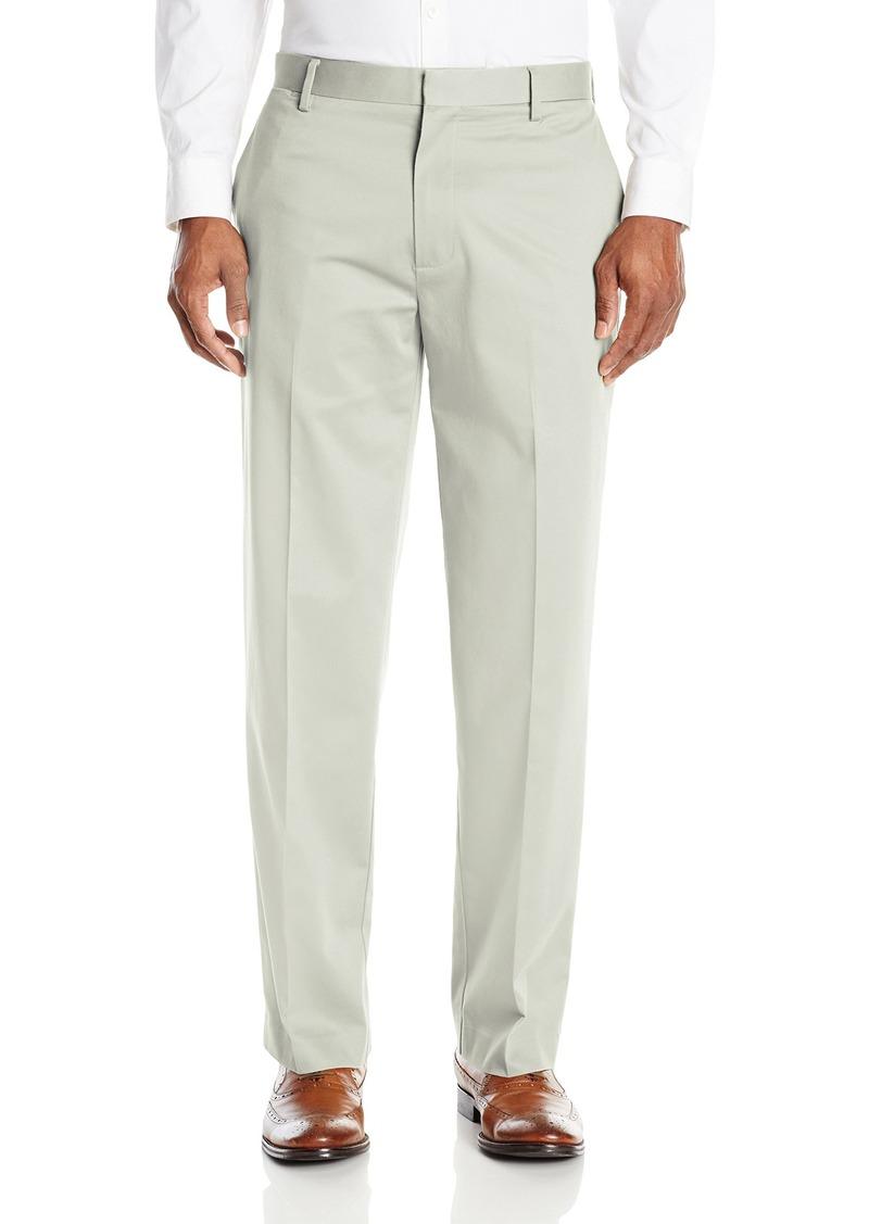 0894328cd8349 Men's Insignia Wrinkle-Free Khaki Classic-Fit Flat-Front Pant