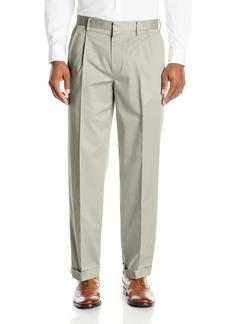 Dockers Men's Insignia Wrinkle-Free Khaki Classic-Fit Pleat Pant