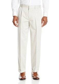 Dockers Men's Insignia Wrinkle-Free Khaki Classic-Fit Pleat Pant