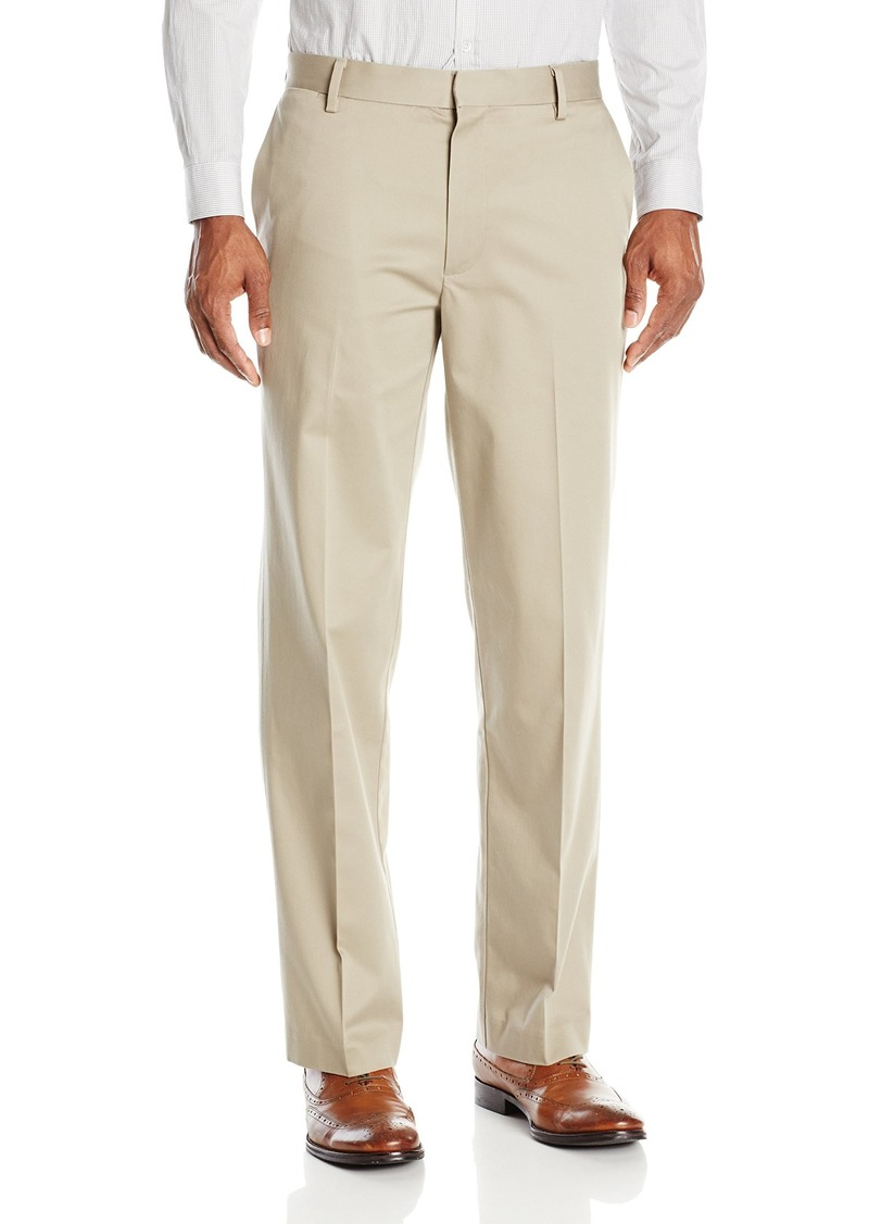 Dockers Men's Insignia Wrinkle Free Khaki Straight-Fit Flat-Front Pant