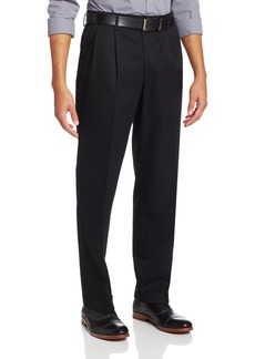 Dockers Men's Iron-Free Classic Pleated Stretch Pants