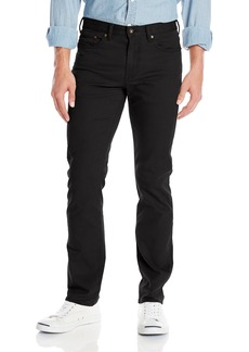 Dockers Men's Jean Cut Slim Fit Pant Black Twill (Stretch)