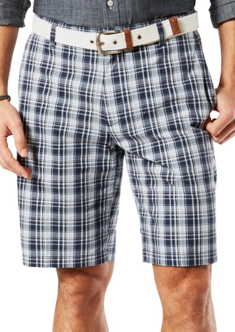 Dockers Men's Leightweight Plaid Shorts