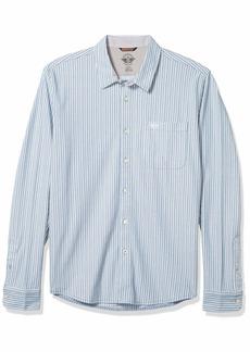 Dockers Men's Long Sleeve Alpha 360 Button Up Shirt  XXL