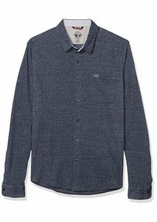 Dockers Men's Long Sleeve Alpha 360 Button Up Shirt  M