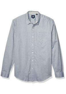 dockers Men's Long Sleeve Alpha Button Down Shirt  L