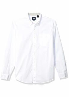 Dockers Men's Long Sleeve Alpha Button Down Shirt  XL