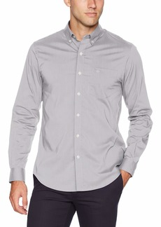 Dockers Men's Long Sleeve Button Front Comfort Flex Shirt