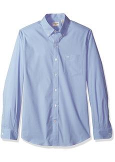 Dockers Men's Long Sleeve Button Front Comfort Flex Shirt