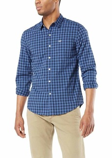 Dockers Men's Long Sleeve Button Front Comfort FLEX Shirt  S