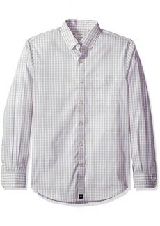 Dockers Men's Long Sleeve Button Front Shirts Tan