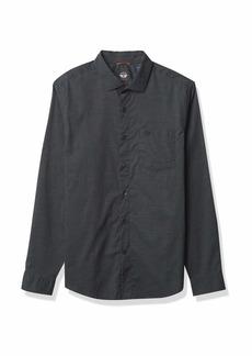 Dockers Men's Long Sleeve Spread Collar Shirt