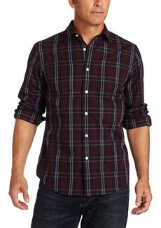 Dockers Men's Long Sleeve Stain Defender Woven Shirt