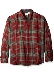 Dockers Men's Twill Long Sleeve Button Front Shirt