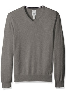 Dockers Men's Long Sleeve V-Neck Cotton Sweater