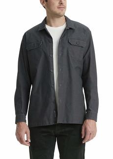 Dockers Men's Long Sleeve Woven Shirt Jacket
