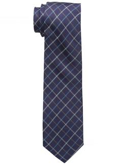 Dockers Men's Market Street Grid 100% Silk Tie