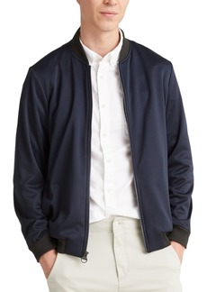 Dockers Men's Mixed-Media Bomber Jacket, Created for Macy's