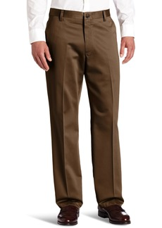Dockers Men's Never-Iron Essential Khaki D2 Flat-Front Pant Branch - discontinued