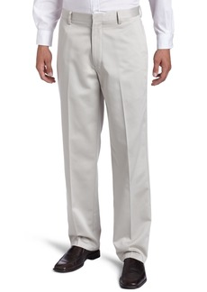Dockers Men's Never Iron Essential Khaki D3 Classic-Fit Flat-Front Pant Stone - discontinued