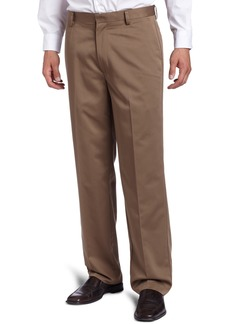 Dockers Men's Never Iron Essential Khaki D3 Classic-Fit Flat-Front Pant Taupe - discontinued