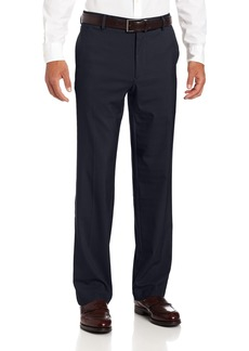 Dockers Men's New Prostyle Khaki D2 Straight Fit Flat Front Pant Navy - discontinued
