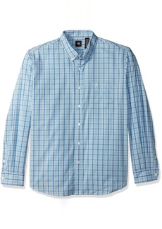 Dockers Men's No Wrinkle Long Sleeve Button-Front Shirt