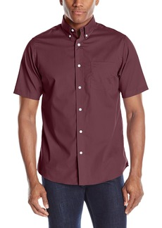 Dockers Men's No Wrinkle Short Sleeve Button-Front Shirt