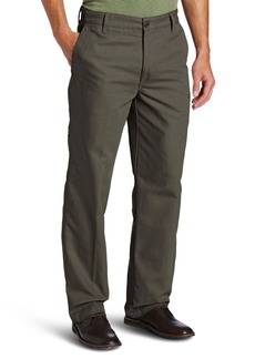 Dockers Men's Outdoor Khaki D3 Classic-Fit Flat-Front Pant Rifle Green - discontinued
