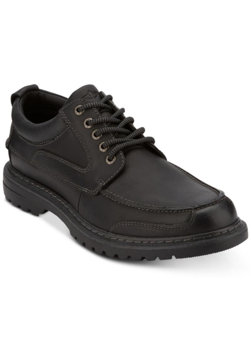 Dockers Men's Overton Moc-Toe Leather Oxfords Men's Shoes