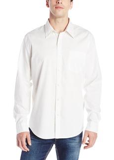 Dockers Men's Oxford Long Sleeve Button Front Shirt