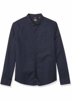 Dockers Men's Oxford Long Sleeve Button Front Shirt  M