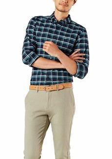 Dockers Men's Oxford Long Sleeve Button Front Shirt  XXL