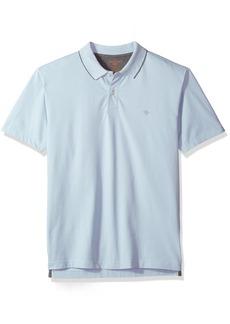 abd2126e Dockers Dockers Men's Short Sleeve Solid Poly Pique Polo Shirt ...