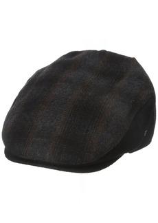 Dockers Men's Plaid Patterened Ivy Cap  32