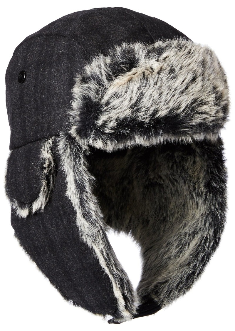Dockers Dockers Men s Plaid Trapper Hat With Faux Fur Lining  32 ... 13e522a881e