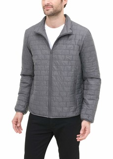 Dockers Men's Lightweight Ultra Loft Quilted Packable Jacket (Regular and Big & Tall)