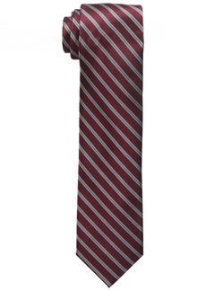 Dockers Men's Polk Street Stripe 100% Silk Tie