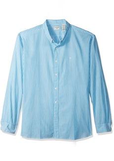 Dockers Men's Poplin Long Sleeve Button-Front Shirt
