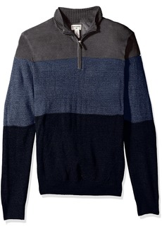 Dockers Men's Quarter Zip Soft Acrylic Sweater