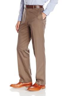 Dockers Men's Refined Khaki Classic Fit Flat Front Pant Addison/Cedar Ash - discontinued