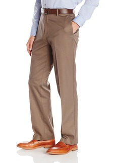 Dockers Men's Refined Khaki Classic Fit Flat Front Pant Addison/Cedar Ash - discontinued
