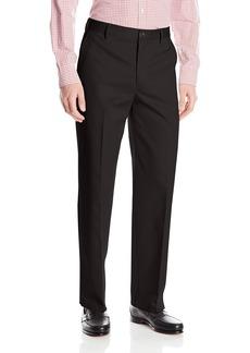 Dockers Men's Refined No Wrinkles Khaki Classic Flat Front Pant