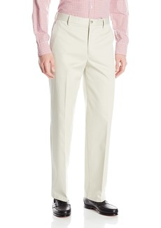 Dockers Men's Refined No Wrinkles Khaki Classic Flat Front Pant Cloud - discontinued
